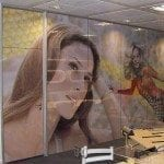 Printed window manifestation
